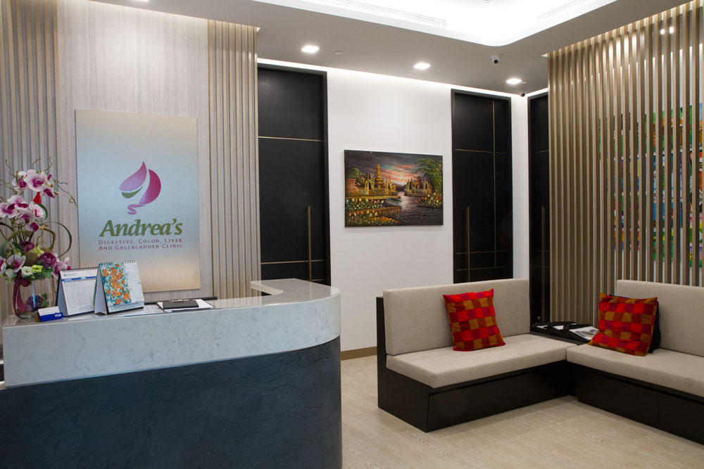 Picture of Andrea's Digestive Clinic Singapore reception area