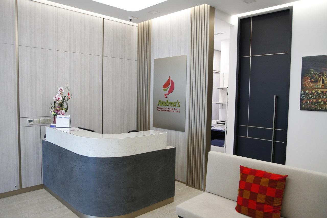 Andrea's Digestive Clinic Singapore lobby