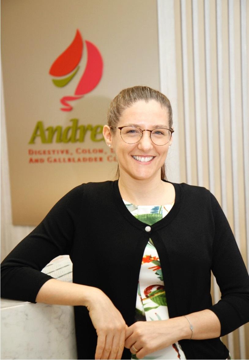 Ms. Veronica Cavallini of Andrea's Digestive Clinic Singapore