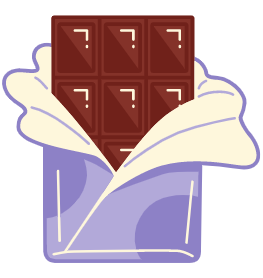 A picture of a chocolate bar